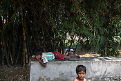 Young boys seen in Khurmaniya village in Raxaul district of Bihar.