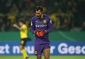 February 5th 2019, Dortmund, Germany, German DFB Cup round of 16, Borussia Dortmund versus SV Werder Bremen; Substitute goalkeeper Eric OELSCHLAGEL, BVB