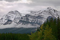 Rocky Mountains in Alberta Canada