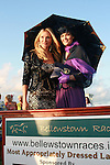 Caprice with the Bellewstown Races Best Dressed Lady, Keelin Taylor. ..Photo NEWSFILE/Jenny Matthews.(Photo credit should read Jenny Matthews/NEWSFILE)....This Picture has been sent you under the condtions enclosed by:.Newsfile Ltd..The Studio,.Millmount Abbey,.Drogheda,.Co Meath..Ireland..Tel: +353(0)41-9871240.Fax: +353(0)41-9871260.GSM: +353(0)86-2500958.email: pictures@newsfile.ie.www.newsfile.ie.FTP: 193.120.102.198.
