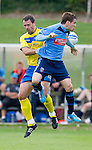 UCD v St Johnstone...10.07.11  Pre-season Friendly.David McCracken and Mark Langtry.Picture by Graeme Hart..Copyright Perthshire Picture Agency.Tel: 01738 623350  Mobile: 07990 594431