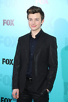 Chris Colfer at the Fox 2012 Programming Presentation Post-Show Party at Wollman Rink in Central Park on May 14, 2012 in New York City.