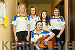 Scor Sinsear Finals: Taking part in the Kerry Senior Scor finals at the Marian Hall, Moyvane on Friday night last were the Glen Flesk Ballad Group. In front : Sorcha Ni Fhionnain & at back : Connie Ni Lionsigh, Aoife Ni Fhleamoinn, Emma Ni Chantiluin & Ailin Ni Ealaithe.