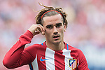 Antoine Griezmann of Atletico de Madrid in react during their La Liga match between Atletico de Madrid vs Athletic de Bilbao at the Estadio Vicente Calderon on 21 May 2017 in Madrid, Spain. Photo by Diego Gonzalez Souto / Power Sport Images