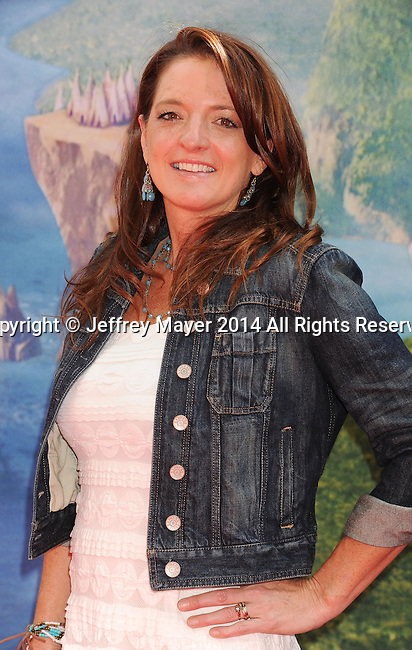 BURBANK, CA- MARCH 22: Producer Jenni Magee-Cook attends the premiere of DisneyToon Studios' 'The Pirate Fairy' at Walt Disney Studios on March 22, 2014 in Burbank, California.
