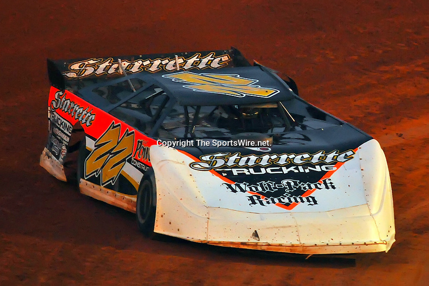 Jan. 31th, 2009; 6:15:15 PM;  Waynesville, GA . USA; 2009 O'Reilly Southern All Star Series running the Superbowl of Racing 5 at the Golden Isles Speedway.  Mandatory Credit: (thesportswire.net)
