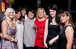 Sarah Brady, Left, with friends at her 40th in Bru..Picture: Shane Maguire / www.newsfile.ie.