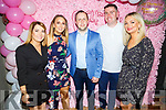 Staff of CH Cemist enjoying their Summer party in the Ashe Hotel on Saturday night<br /> L to r: Aisling Foran, Hannah and Roland O'Halloran, Steve McGivern and Breda Furlong.