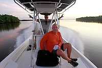 Captain Tom Shurtleff and Mike Derbyshire in the Florida Everglades and the 10,000 islands out of Chokoloskee Island. Photo/Andrew Shurtleff