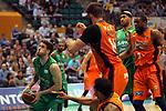 League ACB-ENDESA 2017/2018. Game: 30.<br /> Divina Seguros Joventut vs Valencia Baket Club: 77-75.<br /> Xabi Lopez-Arostegui.