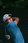 Natipong Srithong of Thailand tees off the 16th hole during the 58th UBS Hong Kong Golf Open as part of the European Tour on 09 December 2016, at the Hong Kong Golf Club, Fanling, Hong Kong, China. Photo by Marcio Rodrigo Machado / Power Sport Images