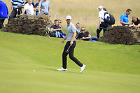Bernd Wiesberger (AUT) on the 2nd green during Round 1 of the Aberdeen Standard Investments Scottish Open 2019 at The Renaissance Club, North Berwick, Scotland on Thursday 11th July 2019.<br /> Picture:  Thos Caffrey / Golffile<br /> <br /> All photos usage must carry mandatory copyright credit (© Golffile | Thos Caffrey)