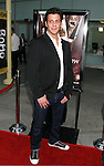 """HOLLYWOOD, CA. - September 03: Maxx Hennard arrives at the Los Angeles premiere of """"Sorority Row"""" at the ArcLight Hollywood theater on September 3, 2009 in Hollywood, California."""