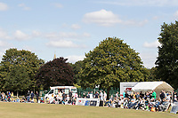 A good crowd builds  before the start of  Upminster CC vs Essex CCC, Benefit Match Cricket at Upminster Park on 8th September 2019