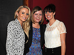 Ciara Shearman celebrating her engagement at Brú with bridesmaids Claire Mooney and Aoife Lennon. Photo:Colin Bell/pressphotos.ie
