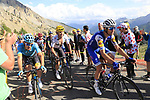 Riders climb Col d'Izoard during Stage 18 of the 104th edition of the Tour de France 2017, running 179.5km from Briancon to the summit of Col d'Izoard, France. 20th July 2017.<br /> Picture: Eoin Clarke | Cyclefile<br /> <br /> All photos usage must carry mandatory copyright credit (&copy; Cyclefile | Eoin Clarke)