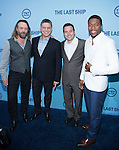 WASHINGTON, DC - JUNE 4: Actor John Pyper-Ferguson, Excutive producer Steven Kane, writer Hank Kane and actor Joco Sims attends The Last Ship premiere screening, a partnership between TNT and the U.S. Navy on June 4, 2014 in Washington, D.C. Photo Credit: Morris Melvin / Retna Ltd.