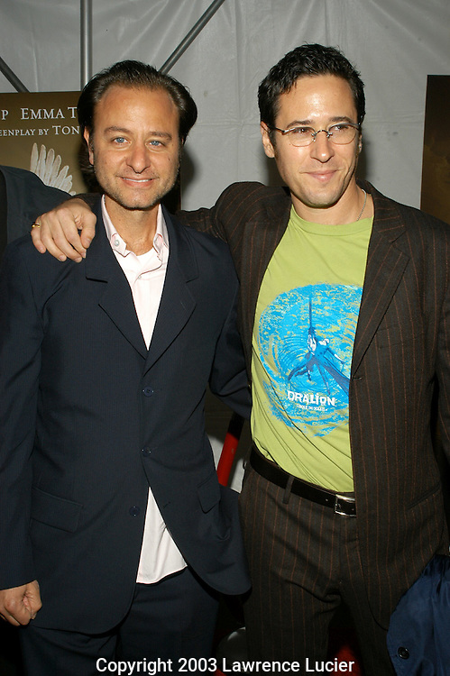 Fisher Stevens and Rob Morrow