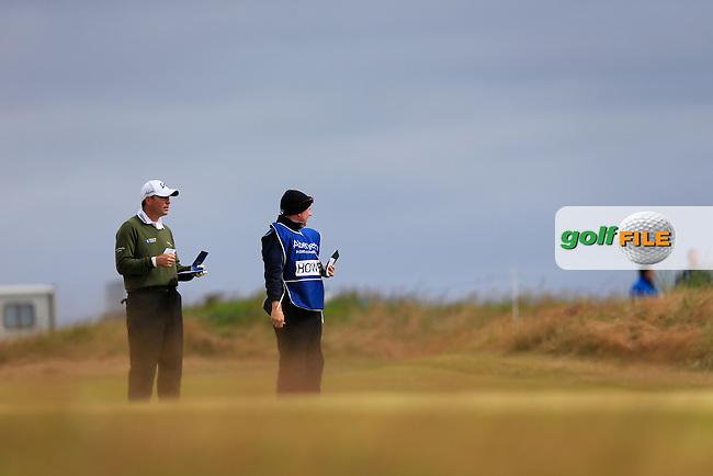 David Howell (ENG) during the 1st round of the Aberdeen Asset Management Scottish Open 2014, Royal Aberdeen Golf Club, Aberdeen, Scotland.<br /> Picture: Fran Caffrey www.golffile.ie
