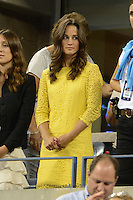 FLUSHING NY- SEPTEMBER 5: Pippa Middleton is sighted watchingTomas Berdych upset Roger Federer in four sets on Armstrong stadium at the USTA Billie Jean King National Tennis Center on September 5, 2012 in in Flushing Queens. Credit: mpi04/MediaPunch Inc. ***NO NY NEWSPAPERS*** /NortePhoto.com<br />