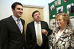 Taoiseach Brian Cowen visits Drogheda to open the Office of Senator James Carroll.  Pictured here with Lillie Callan...Photo NEWSFILE/Jenny Matthews.(Photo credit should read Jenny Matthews/NEWSFILE)....This Picture has been sent you under the condtions enclosed by:.Newsfile Ltd..The Studio,.Millmount Abbey,.Drogheda,.Co Meath..Ireland..Tel: +353(0)41-9871240.Fax: +353(0)41-9871260.GSM: +353(0)86-2500958.email: pictures@newsfile.ie.www.newsfile.ie.FTP: 193.120.102.198.