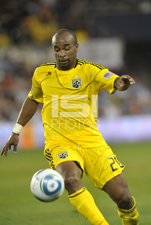 Columbus Crew forward Emilio Renteria in action... Sporting Kansas City defeat Columbus Crew 2-1 at LIVESTRONG Sporting Park, Kansas City, Kansas.