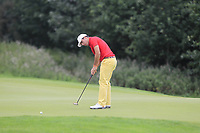 Alejandro Del Ray of Team Spain on the 5th green during Round 4 of the WATC 2018 - Eisenhower Trophy at Carton House, Maynooth, Co. Kildare on Saturday 8th September 2018.<br /> Picture:  Thos Caffrey / www.golffile.ie<br /> <br /> All photo usage must carry mandatory copyright credit (&copy; Golffile | Thos Caffrey)