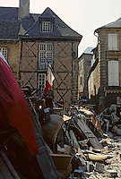"Europe/France/Aquitaine/24/Dordogne/Vallée de la Dordogne/Périgord/Périgord noir/Sarlat-la-Canéda: Tournages du film ""Les misérables"" - Barricade"