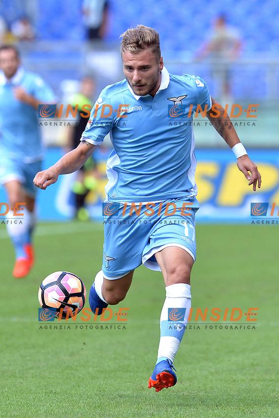 Ciro Immobile Lazio.<br /> Roma 25-09-2016  Stadio Olimpico<br /> Campionato Serie A,<br /> Lazio - Empoli<br /> Foto Antonietta Baldassarre / Insidefoto