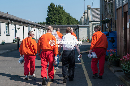 Movement of prisoners, HMP Barlinnie, Glasgow