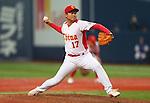 Lu Jiangang (CHN), .February 27, 2013 - WBC : .2013 World Baseball Classic, Exhibithion Game .match between China 1-8 ORIX Buffaloes .at Kyocera Dome, Osaka, Japan..(Photo by AJPS/AFLO SPORT)