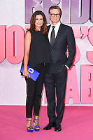 "Livia and Colin Firth<br /> at the ""Bridget Jones's Baby"" World premiere, Odeon Leicester Square , London.<br /> <br /> <br /> ©Ash Knotek  D3149  05/09/2016"