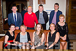 Sika Signs employees at their Christmas party in the Brehon Hotel on Saturday night front row l-r: Mary, Eileen O'Connor, Aoife Fleming, Louise Moynihan and Doreen Fleming, back row: Dave Fleming, John O'Sullivan, CJ O'Sullivan, Connie Finnegan
