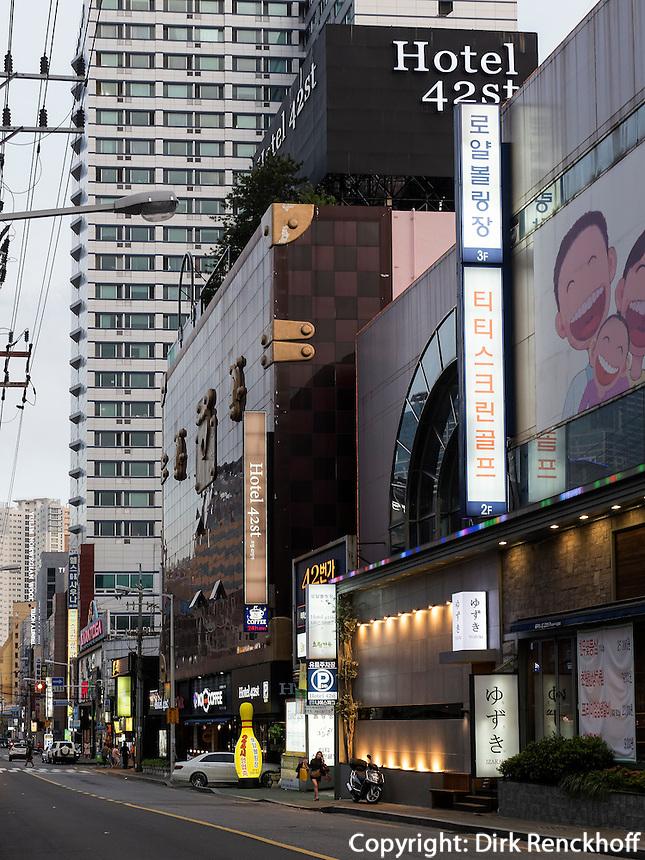 Hotel 42st in Bujeon 2-dong, Busanjin-gu, Busan, Gyeongsangnam-do, S&uuml;dkorea, Asien<br /> Hotel 42st in Bujeon 2-dong, Busanjin-gu, Busan,  province Gyeongsangnam-do, South Korea, Asia