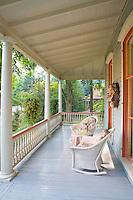 Victorian Porch, Moorestown, New Jersey