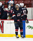 Josh Norris (NTDP - 14) - The Harvard University Crimson defeated the US National Team Development Program's Under-18 team 5-2 on Saturday, October 8, 2016, at the Bright-Landry Hockey Center in Boston, Massachusetts.
