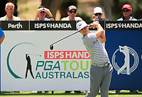 Thorbjorn Olesen (DEN) in action on the 2nd during Round 1 of the ISPS Handa World Super 6 Perth at Lake Karrinyup Country Club on the Thursday 8th February 2018.<br /> Picture:  Thos Caffrey / www.golffile.ie<br /> <br /> All photo usage must carry mandatory copyright credit (&copy; Golffile | Thos Caffrey)