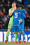 Markel Bergara Larranaga of Getafe CF celebrates after scoring his goal with his team during the La Liga 2017-18 match between Getafe CF and Valencia CF at Coliseum Alfonso Perez on December 3 2017 in Getafe, Spain. Photo by Diego Gonzalez / Power Sport Images