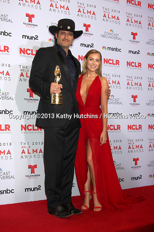 LOS ANGELES - SEP 27:  Robert Rodriguez, Alexa Vega at the 2013 ALMA Awards - Press Room at Pasadena Civic Auditorium on September 27, 2013 in Pasadena, CA