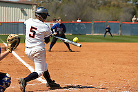 SAN ANTONIO, TX - MARCH 15, 2009: The University of Texas at Arlington Mavericks vs. The University of Texas at San Antonio Roadrunners Softball at Roadrunner Field. (Photo by Jeff Huehn)