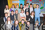 Students from Castlemaine NS who performed at the Conradh na Gaelige Craobh Cillianfiarna in the Ivy Leaf Castleisland on Friday evening front row Ailee Courtney, Zeta Asha, Siobhain Ladden, Sarah Costello, Tomas Hayes. Middle row: Cathal Costello, Dylan O'Sullivan, Sarah Sugrue, Timmy O'Sullivan, Christopher Flynn, Catriona Griffin. Back row: Triona Clifford, Katie Dennehy, Jerry Clifford, Edward Dennehy, Gavin Casey, Donal Buckley, Aaron Murphy and Luke Flynn