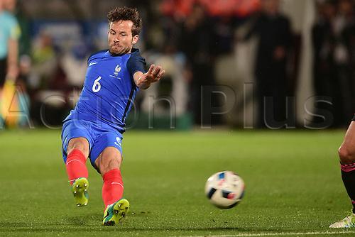 04.06.2016. Stade Saint Symphorien, Metz, France. International football freindly,France versus Scotland.  Yohan Cabaye (France)
