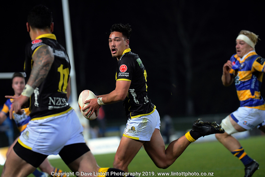 Billy Proctor in action during the Mitre 10 Cup rugby match between Bay Of Plenty Steamers and Wellington Lions at Rotorua International Stadium, New Zealand on Saturday, 7 September 2019. Photo: Dave Lintott / lintottphoto.co.nz