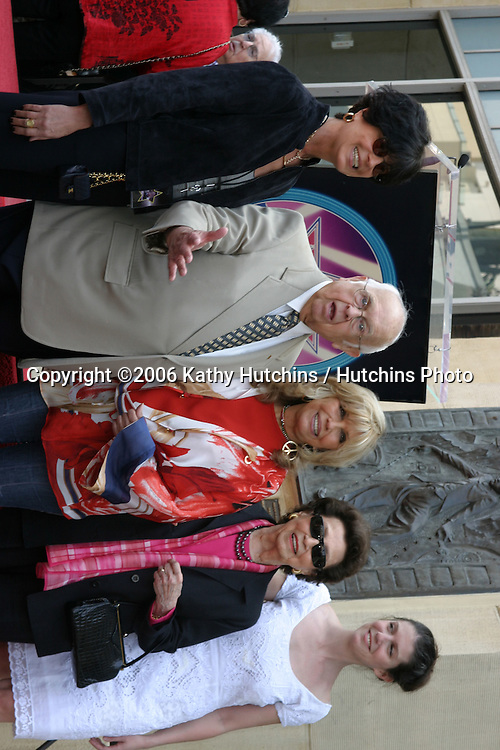 Tina Sinatra, Johnny Grant, Nancy Sinatra, Nancy Sinatra Sr and AJ (Nancy Jr's Daughter).Nancy Sinatra receives a star on the Hollywood Walk of Fame.Los Angeles, CA.May 11, 2006.©2006 Kathy Hutchins / Hutchins Photo....
