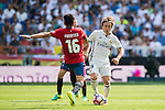 Luka Modric of Real Madrid in action during the La Liga match between Real Madrid and Osasuna at the Santiago Bernabeu Stadium on 10 September 2016 in Madrid, Spain. Photo by Diego Gonzalez Souto / Power Sport Images