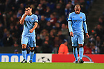 Sergio Aguero of Manchester City looks dejected - Manchester City vs. Bayern Munich - UEFA Champion's League - Etihad Stadium - Manchester - 25/11/2014 Pic Philip Oldham/Sportimage