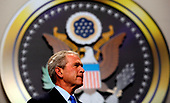 United States President George W. Bush makes remarks at the 2008 President's Dinner, at the Walter E. Washington Convention Center in Washington, DC, June 18, 2008.<br /> Credit: Aude Guerrucci / Pool via CNP