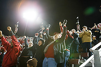 Stanford, CA - November 18, 2017: during the Stanford vs California football game Saturday night at Stanford Stadium.<br /> <br /> The Stanford Cardinal defeated the California Golden Bears 17 to 14.