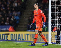 Manchester City's Arijanet Muric<br /> <br /> Photographer Andrew Kearns/CameraSport<br /> <br /> English League Cup - Carabao Cup Quarter Final - Leicester City v Manchester City - Tuesday 18th December 2018 - King Power Stadium - Leicester<br />  <br /> World Copyright &copy; 2018 CameraSport. All rights reserved. 43 Linden Ave. Countesthorpe. Leicester. England. LE8 5PG - Tel: +44 (0) 116 277 4147 - admin@camerasport.com - www.camerasport.com