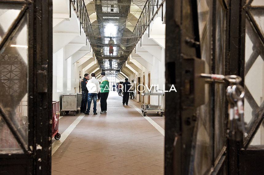 Roma, carcere di Regina Coeli. La terza sezione.